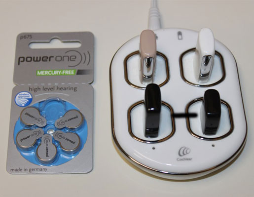 Cochlear Implant Batteries